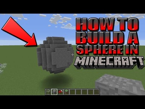 How To Make A Sphere In Minecraft (Tutorial)