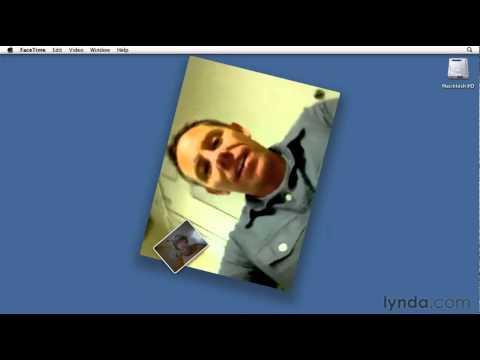 How to use Mac's FaceTime | lynda.com tutorial