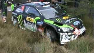 Ken Block fail and crash - Rally Catalunya WRC