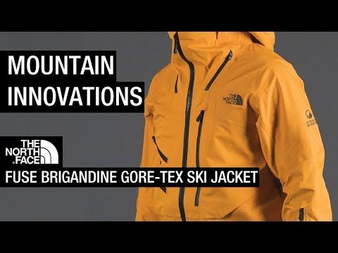 Mountain Innovations: The North Face Fuse Brigandine GORE-TEX Ski Jacket