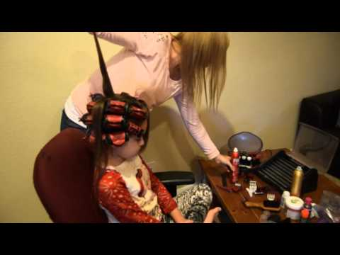Pageant Hair How To- Rolling your hair in hot rollers