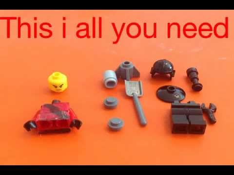 LEGO:TF2 how to build soldier