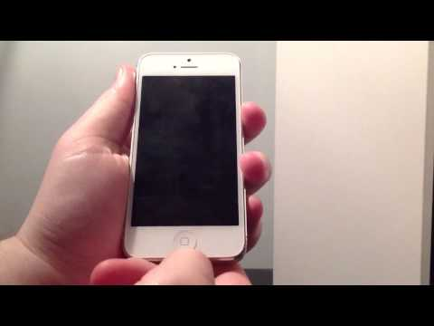 How to put iPhone 5 in and out of DFU mode