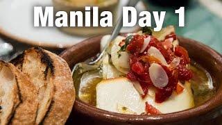 Restaurant Tapenade & Abe Restaurant (Manila Day 1)