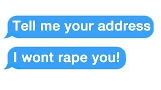 "r/Choosingbeggars ""Where do you live? I promise I won't rape you!"""