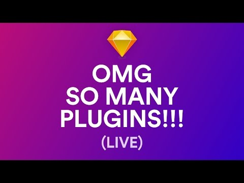 My favorite Sketch Plugins (Recorded Live)