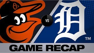 Hicks walks it off with grand slam in 12th | Orioles-Tigers Game Highlights 9/14/19
