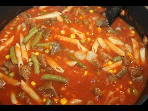 Vegetable (Beef) Soup Recipe *Updated Video*
