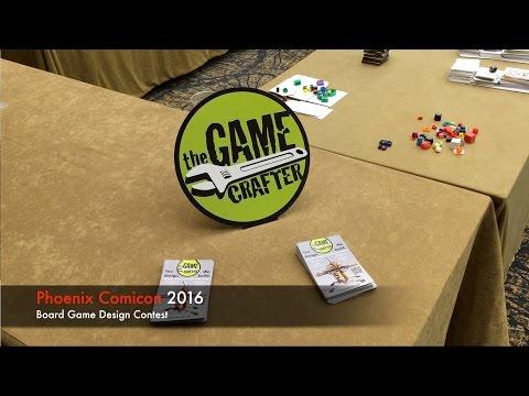 Board Game Design Contest Phoenix Comicon 2016