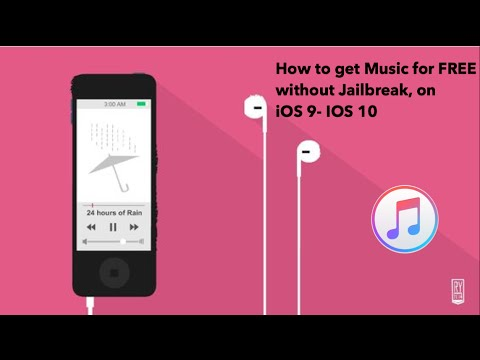 How to get FREE Music without Jailbreak, Working for IOS 9 - IOS 10