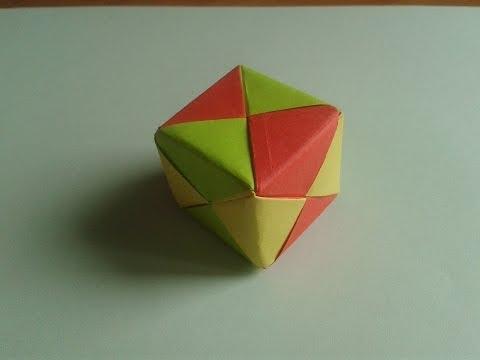 Origami 3D Cube