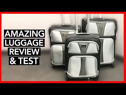 BEST 3 PIECES OF LUGGAGE for 60% OFF - Review & Pack Test