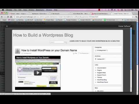 How to Create a Professional Wordpress Blog in 10 Minutes