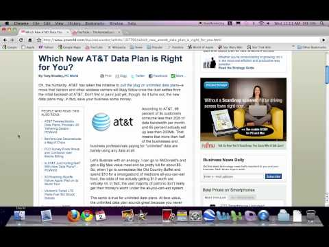 AT&T Drops Unlimited $30 Monthly Data Plan for iPads and Smart Phones!