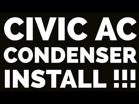 Civic Condenser install !!!!