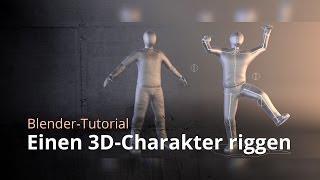 Blender-Tutorial - Einen 3D-Charakter riggen