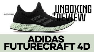 huge selection of e5295 2d526 UNBOXING+REVIEW - adidas Futurecraft 4D