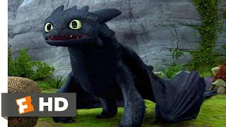 How to Train Your Dragon (2010) - A New Tail Scene (3/10)   Movieclips