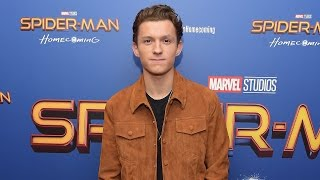 EXCLUSIVE: Tom Holland on Meeting Former