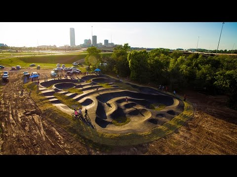 Velosolutions Pumptrack Oklahoma City Boathouse District