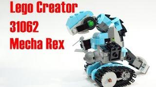 How to build a lego Dinotrux Rex