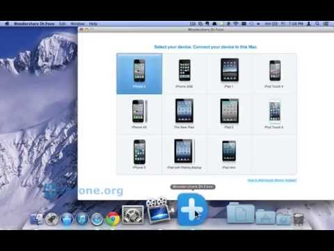 iTouch Data Recovery: How to Recover All Lost Data like Reminders from iTouch iTunes Backup on Mac