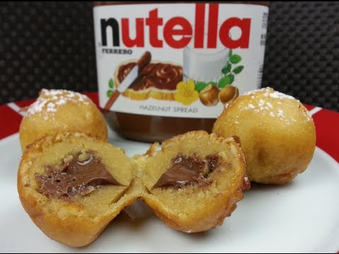 HOW TO MAKE DEEP FRIED NUTELLA COOKIE DOUGH BALLS