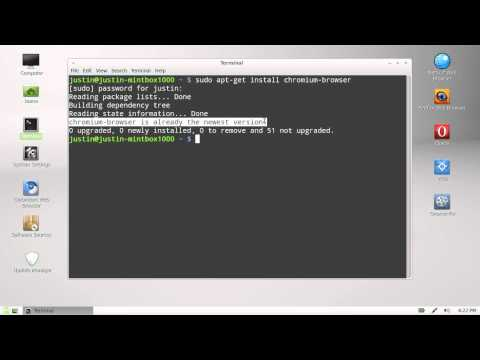 how to install chrome in linux mint 13