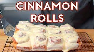 Binging with Babish: Cinnamon Rolls from Jim Gaffigan