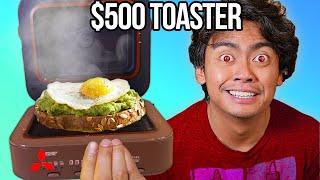Testing VIRAL TikTok GADGETS ($500 Toaster)