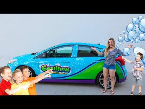 BUBBLE CAR GETS INSANE REACTIONS