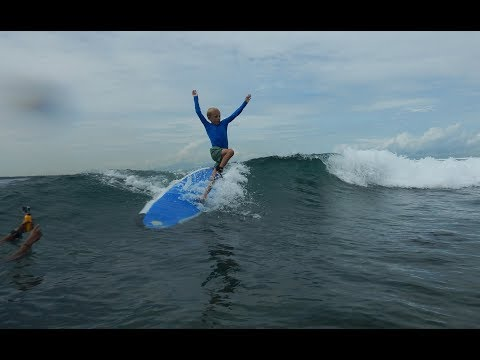 How to Learn surfing for kids?
