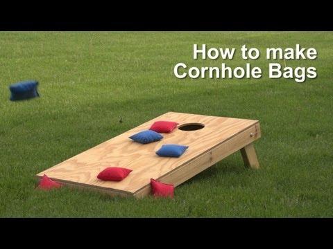 How to make Cornhole Bags
