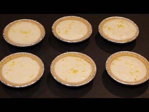 Easy No Bake Mini Lemon Pie Recipe | No Bake Lemon Tart | Soul Food Cooking