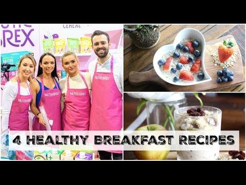 4 Healthy Breakfast Recipes Demos with Nutri-Brex!