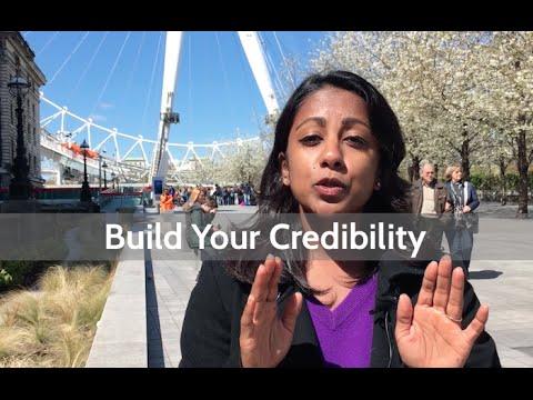 Build Your Credibility At The Beginning Of Your Talk | Poornima Vijayashanker