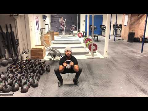 SQUAT STONGER with these Squat Mobility Exercises | The Kettlebell Squat Curl