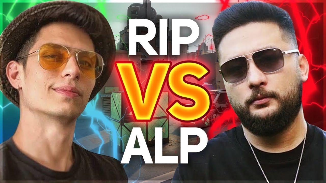 AlpTV VS Berk Rip Tepe 1VS1 VALORANT ! (Uçarken Tek Attım)