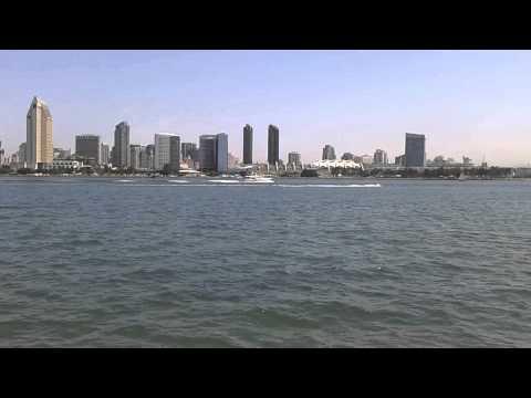 View of Downtown San Diego from Coronado Island in Coronado, California (August 2013)