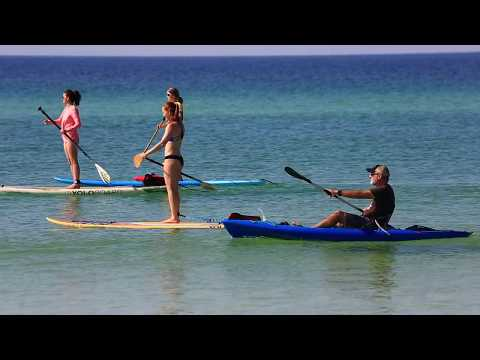 Florida Travel: Paddling in Grayton Beach