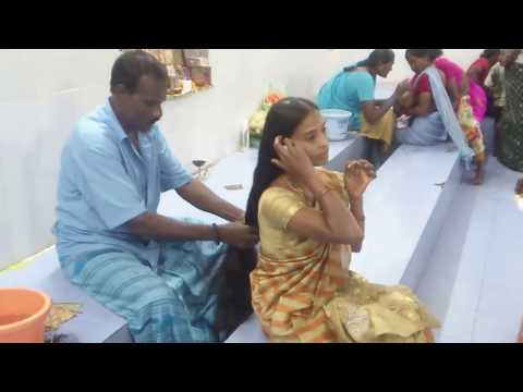 LONG HAIR WOMEN REQUESTING NOT TO CUT MORE HAIR SEE WHAT BARBER DID WITH HER HAIR
