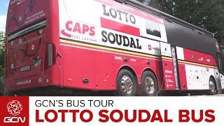 Lotto Soudal Cycling Team Bus | GCN
