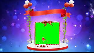 Best Birthday Green Screen Effects Background Frame Video
