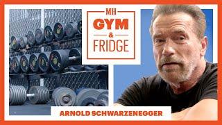 Arnold Schwarzenegger Shows His Gym & Fridge | Gym & Fridge | Men