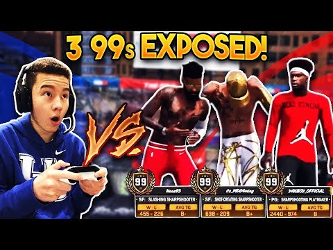 3 99 OVERALLS EXPOSED BADLY! (Embarrassing) PeterMc vs 3 99 Overalls! (NBA 2K18 MyPark)