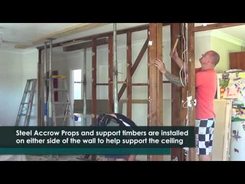 How To Remove A Timber Load Bearing Wall