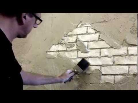 Faux Brick Wall Creative Painting Techniques