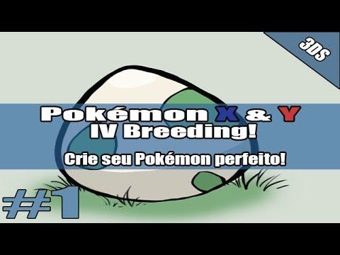 Pokémon X & Y - Como criar seu Pokémon perfeito! (IV Breeding) - Nintendo 3DS