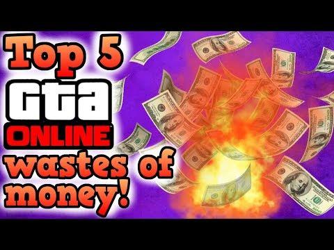 Top 5 wastes of money - GTA Online