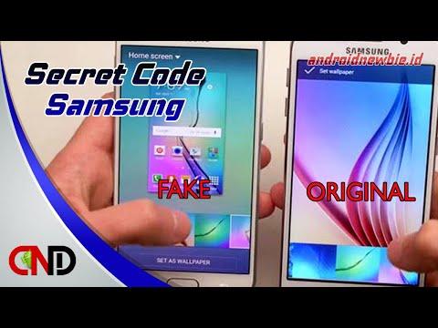 Hp Samsung asli atau palsu??, Cek dengan kode ini...